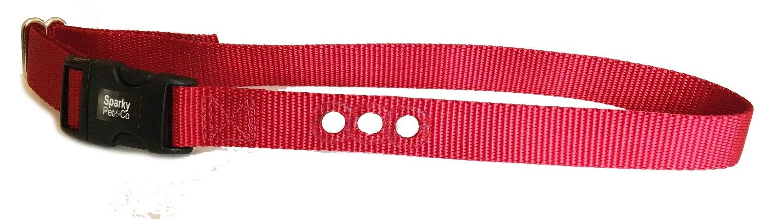 10 Sparky PetCo 1  3 Hole Consecutive Hole Red Fence Collar For PetSafe Systems