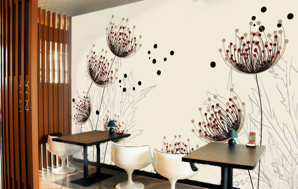 3D Abstract flower 355 Wall Paper Wall Print Decal Wall Deco Indoor Wall Murals