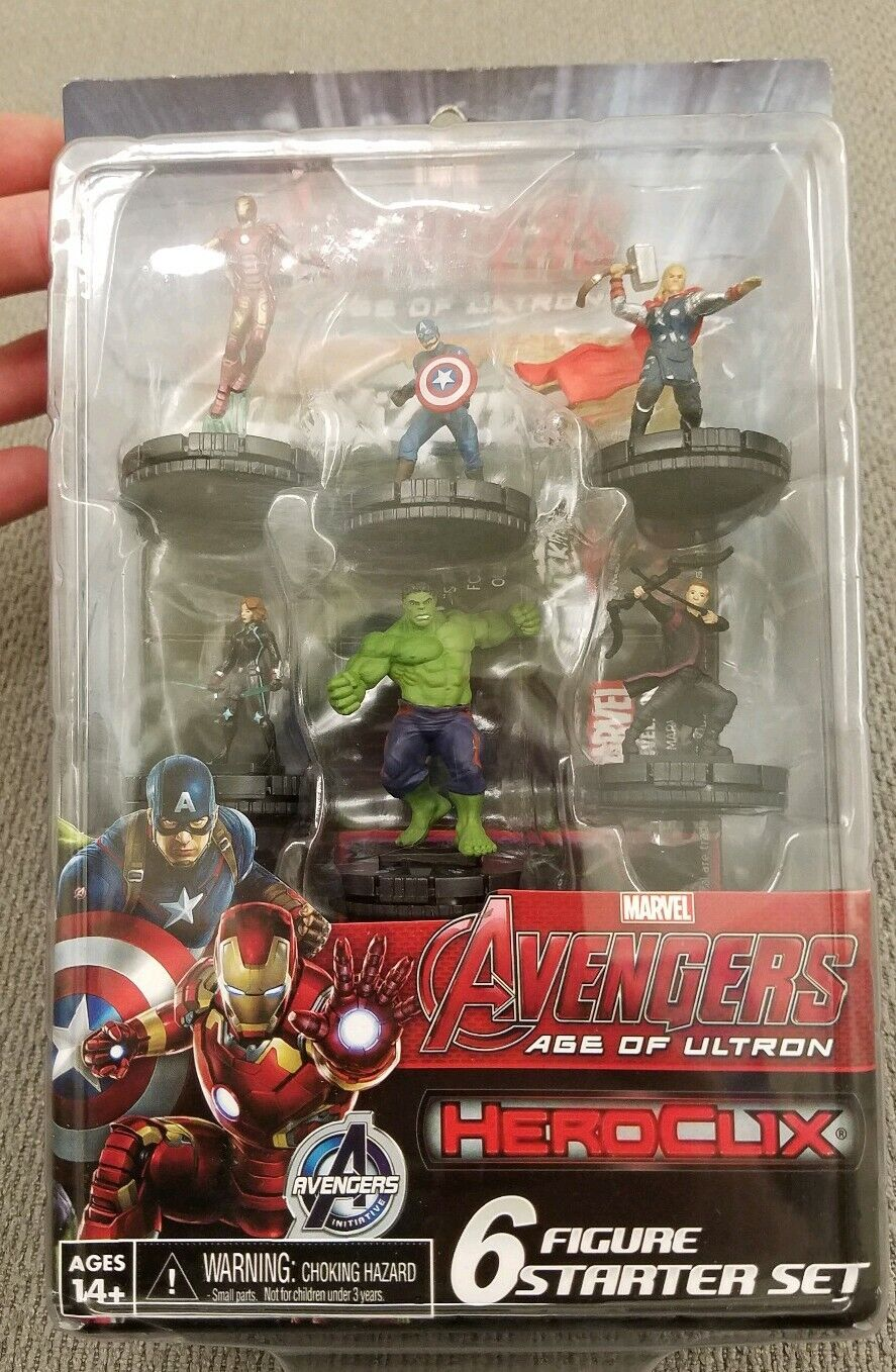 HeroClix Avengers Age of Ultron Starter set - - - Marvel - New and Sealed 9277b0