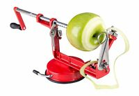 Fruit Cutter Corer Peeler Slicer Apple Blades Vegetable Spiral Kitchen Fun Bar
