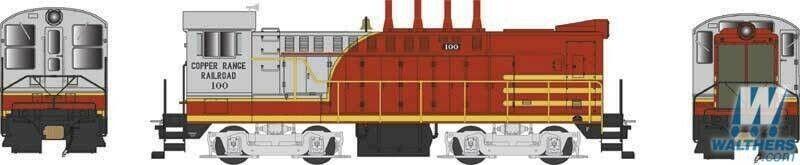 Bowser HO Scale 24784 Copper Range DS 4-4-1000   10 ESU LokSound
