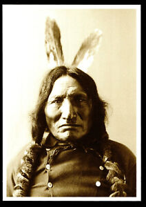 970-Postcard-Red-Horse-Sioux-Chief-1883-Photo-by-David-Barry-NEW
