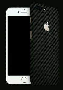 half off 0f109 82e1b Details about Iphone 7 Plus Skins By DBRAND Carbon Fiber Skin by Dbrand  BLACK back only