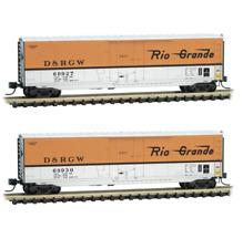 MTL Micro Trains N D/&RGW Rio Grande AX-69035 40/' Standard Box Car 020 00 776 NIB