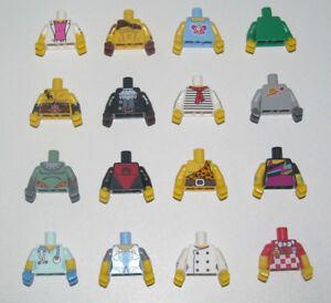 Lego-Minifig-Torse-Corps-Personnage-Torso-71018-Series-17-Choose-Model-NEW