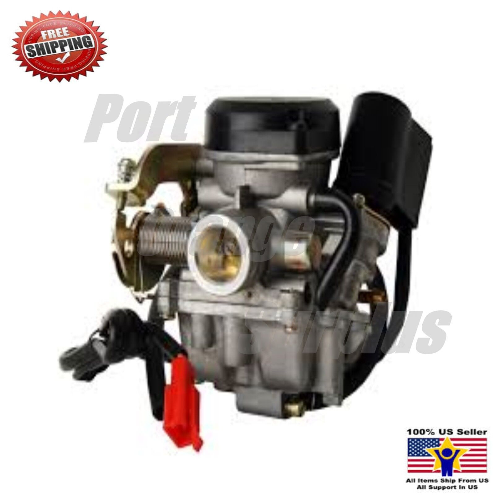 Details about Chinese Scooter Carburetor Tao Tao 50cc ATM50-A1 Black Top  Best Quality