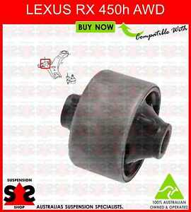 For LEXUS RX270 RX350 RX450H REAR SUSPENSION TRAILING CONTROL ARM BUSH PAIR