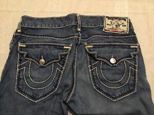 True Religion Jeans Corte De Botas Para Hombres 32 Cuerda De Costura Bolsillos Con Solapa 112790 Ebay