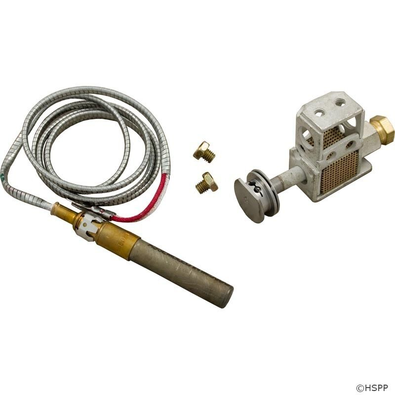 Raypak Pool & Spa Heater Natural Gas Millivolt Pilot-600525B