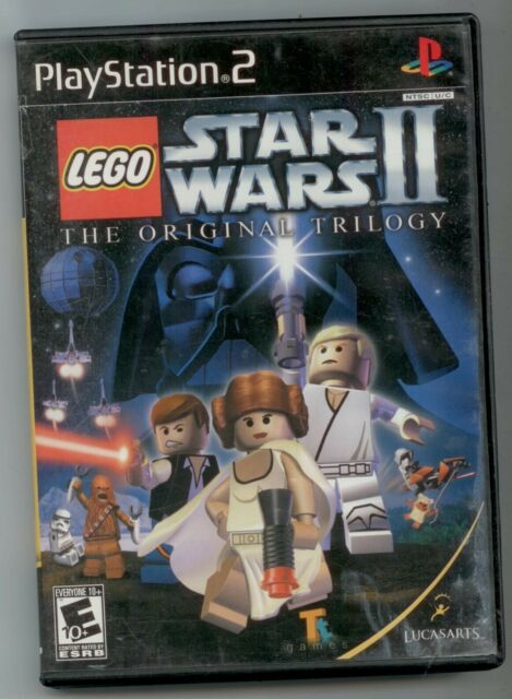 LEGO STAR WARS II THE ORIGINAL TRILOGY SONY PLAYSTATION 2 PS2 GAME