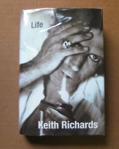 SIGNED - LIFE by Keith Richards - 1st/1st 2010 HCDJ - Rolling Stones biography