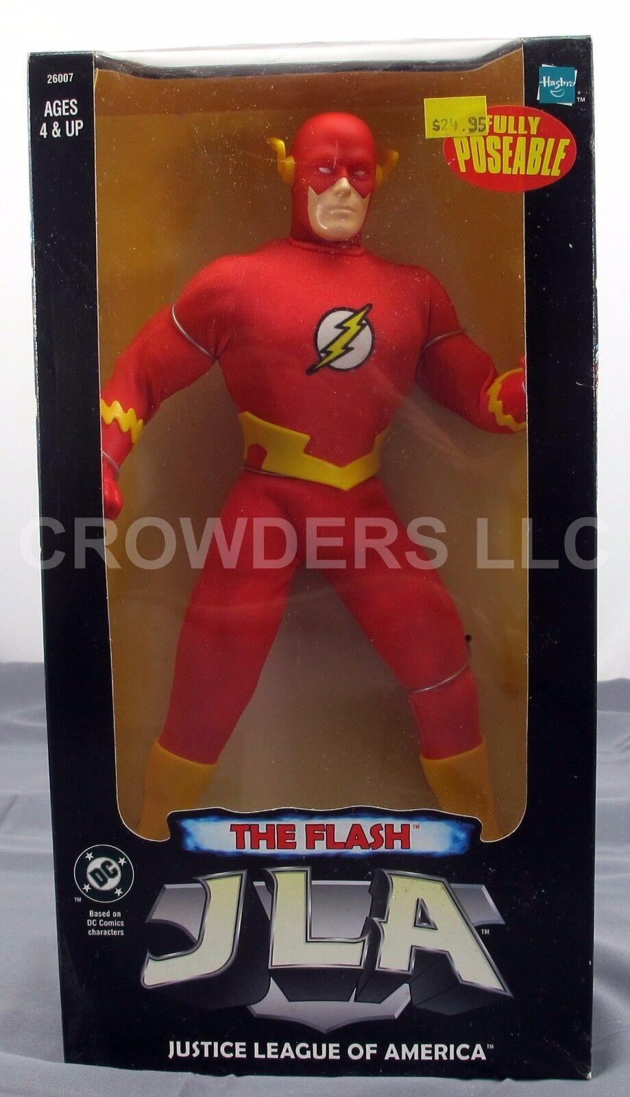 DC Liga De La Justicia De América Liga de la justicia de América el Flash 10  completamente articulado Figura Hasbro Nuevo En Paquete