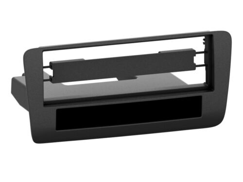 1-din radio diafragma con compartimento audi a1 negro
