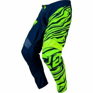 YOUTH motocross pants ANSWER SYNCRON AIR size YOUTH 20 acid/blue  474638