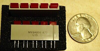 5 Chicago Miniature General Instrument Clear Lens Cap Caps 25P606C aka 25P-606C