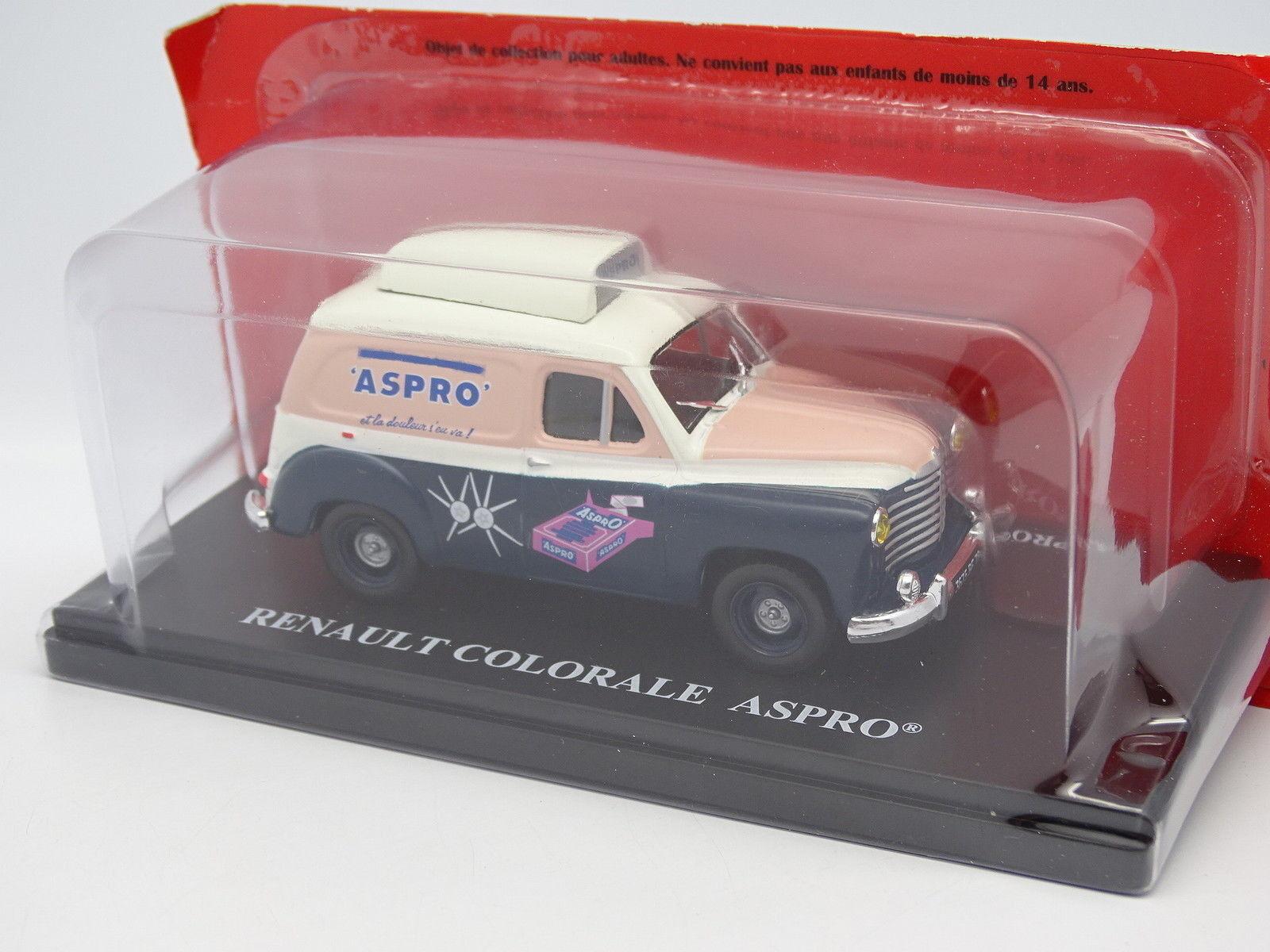 Ixo Press Adv 1 43 - Renault colorale Aspro