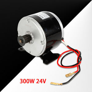 300W-24V-DC-Electric-Motor-Brushed-2750RPM-For-E-Bike-Scooter-Go-Kart-MY1016-hot