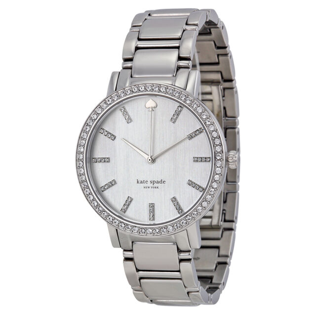 Kate Spade Gramercy Grand Mother of Pearl Dial Stainless Steel Ladies Watch