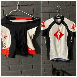 Specialized Para Ciclismo Jersey Camisa De Mujer Conjunto Pantalones Cortos Bicicleta Ebay