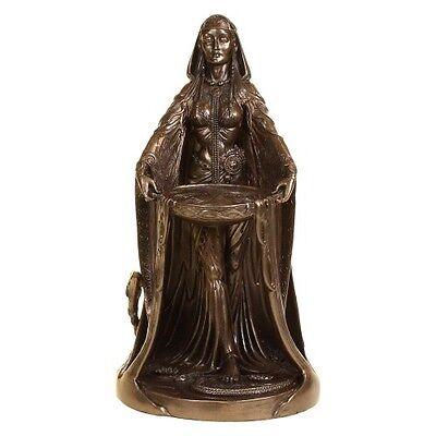 Celtic Danu Goddess Bronze Figurine / Altar Statue - Pagan & Wicca - Nemesis Now