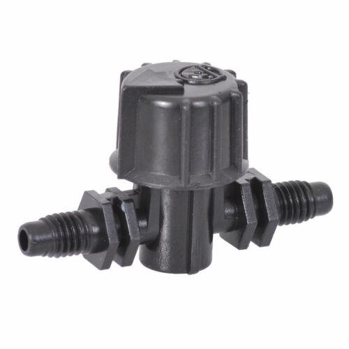 Barbed Inline Vari-Flow Valve//Tap 4mm Micro Garden Irrigation//Watering Antelco