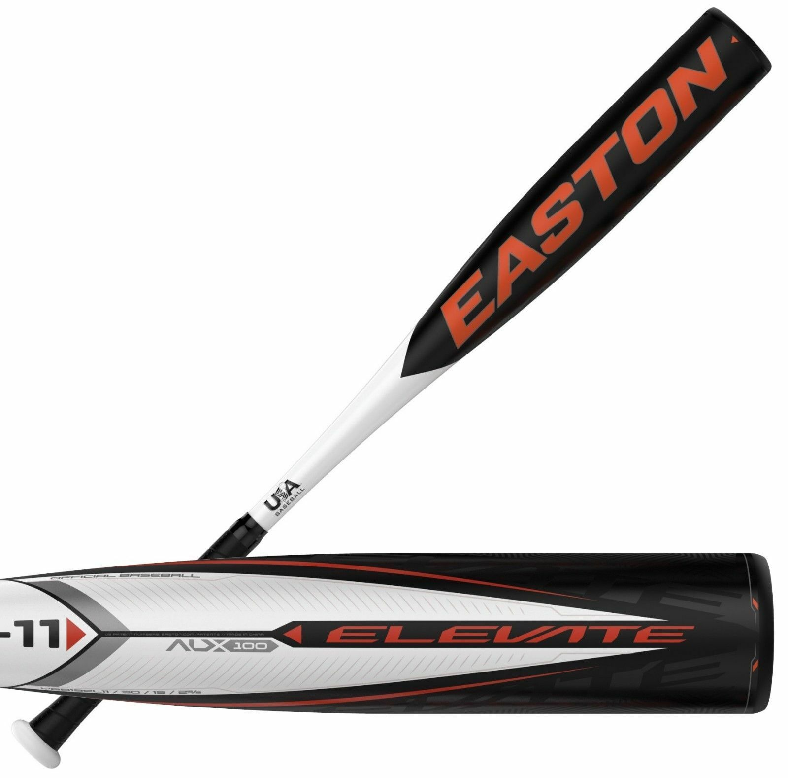 2019 Easton Elevate -11 30  19 OZ Juventud usa bate de béisbol YBB19EL11