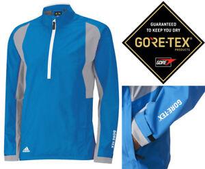 Adidas-Golf-Gore-Tex-Paclite-Waterproof-Jacket-1-2-Zip-RRP-169-LARGE-ONLY