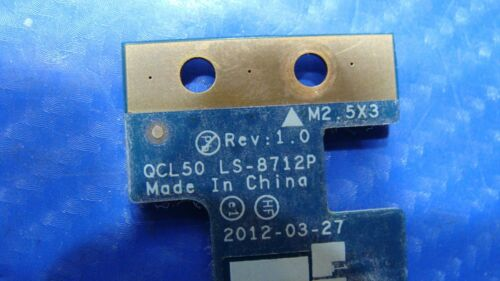 "HP Pavilion 15.6/"" m6-1045dx Genuine Power Button Board w// Cable LS-8712P GLP*"