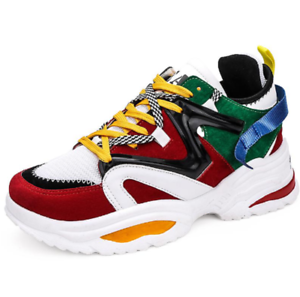 Men/'s Shoes Fashion Casual Sports Sneakers Comfortable Athletic Running Shoes+