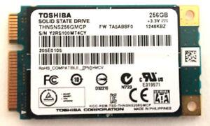 Sony-Vaio-SVD112A1WL-Toshiba-Solid-State-Drive-SSD-256GB-mSata-THNSNS256GMCP-OEM