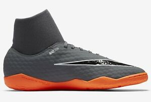 wholesale dealer 38241 51eac Details about Nike Hypervenom PhantomX 3 Academy DF IC - Grey/Orange