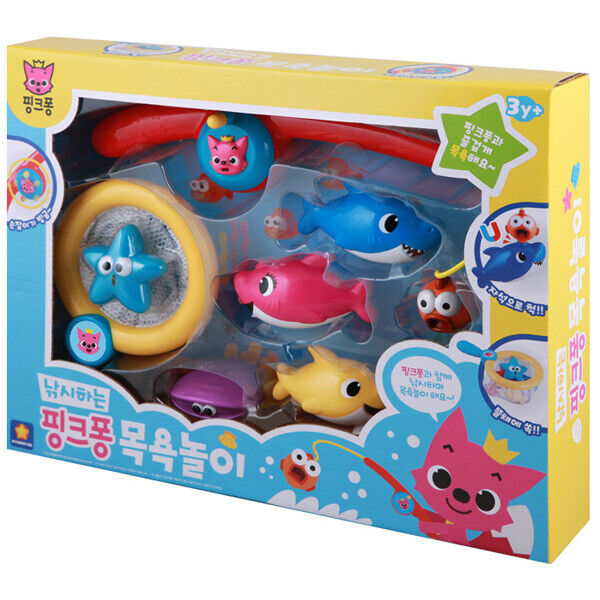 Wonderkid Pinkfong Fishing Fishing Fishing Pinkfong Bath Play Toy 6f3a47
