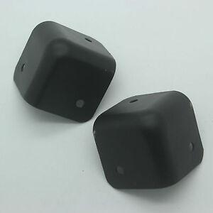 Image Is Loading 8pcs Black Guitar Amp Corner Speaker Cabinet Metal