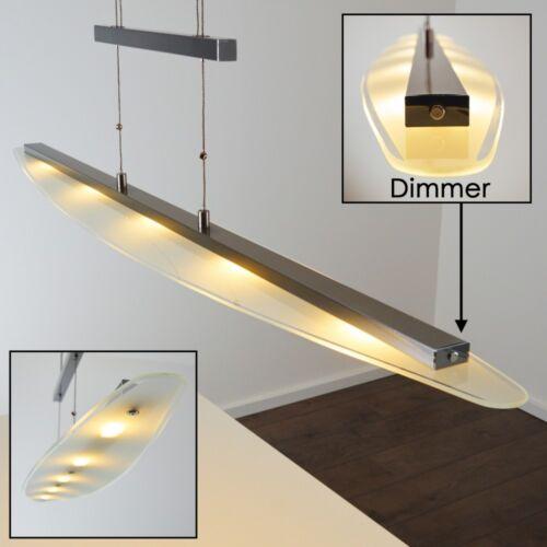 Design LED Hängelampe mit Dimmer Esszimmer Wohn Zimmer Leuchten Höhenverstellbar