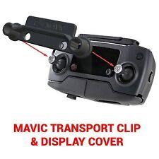 DJI MAVIC PRO - Screen Cover & Transport Clip Controller BLACK USA seller
