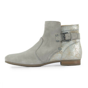 Wildleder Silber38 Damen Grau Geox Marylin Stiefel Metallic D828pg Stiefelette 8nw0NvmO