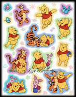 Vintage Hallmark Disney Winnie The Pooh Piglet Tigger Birds Stickers