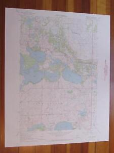 Mount-Tom-Minnesota-1968-Original-Vintage-USGS-Topo-Map