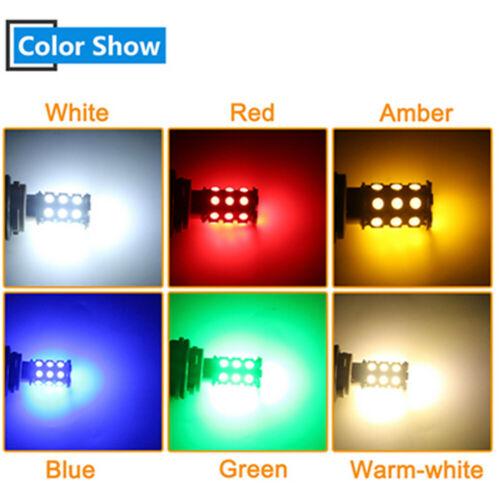 50X 5050 27SMD 1156 1157 3156 3157 7440 7443 Led Auto Brake Tail Turn Light Bulb