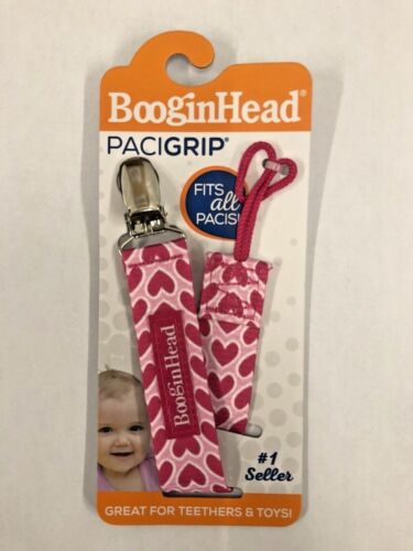 BooginHead PaciGrip Pacifier Clip and Pacifier Holder with Universal Loop NEW