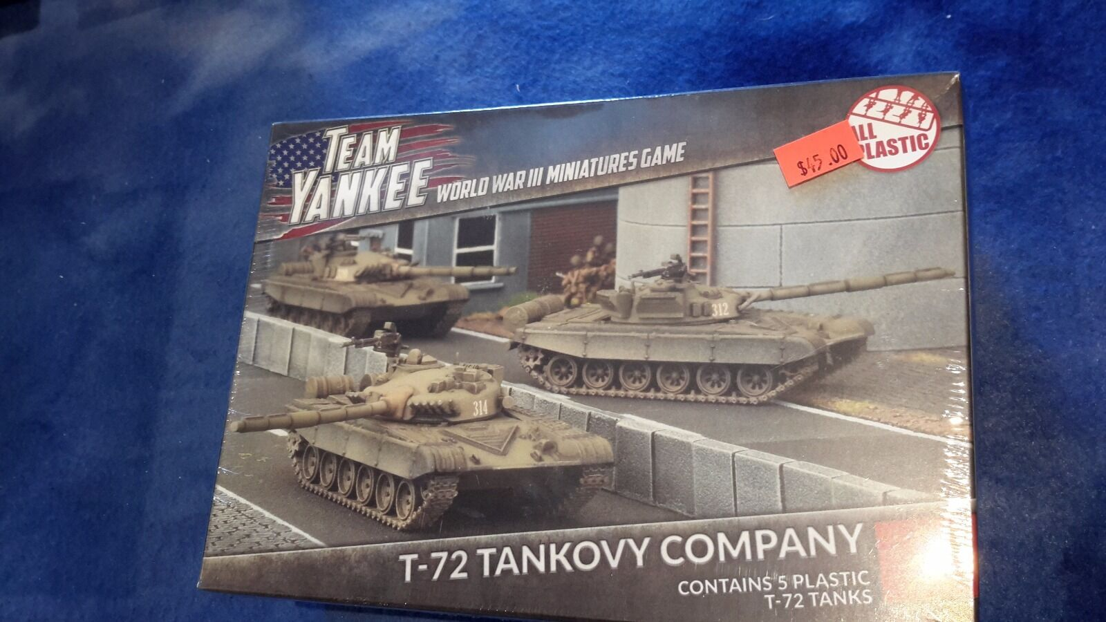 Team Yankee TSBX01 T-72 Tankovy Company SEALED