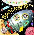 Sticker Playbook Spaceship by Miles Kelly Publishing Ltd (Hardback, 2014)