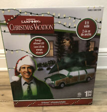 FAST SHIPPING Holiday Wagon Christmas Vacation Station Wagon with Tree on Top Unfinished Wooden Christmas Door Hanger