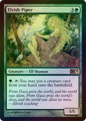 Magic the gathering Elvish Piper FOIL  NM  M10Magic MTG
