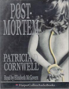 Postmortem-Patricia-Cornwell-2-Cassette-Audio-Book-Scarpetta-Crime-Thriller
