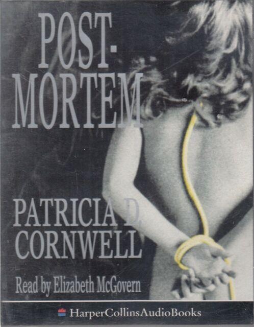 Postmortem Patricia Cornwell 2 Cassette Audio Book Scarpetta Crime Thriller