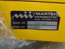 New Martek Instruments 180 22 Preamp