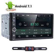 7'' Smart Android 7.1 3G WiFi Double 2DIN Car Radio Stereo No-DVD Player GPS+Cam