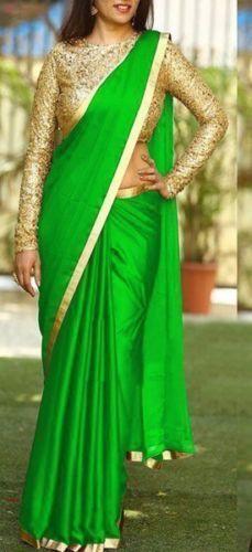 Pakistani Indian sana silk saree Bridal wedding wear embroidery blouse saree
