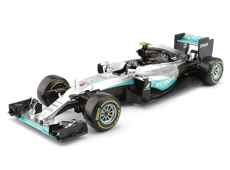 Bburago Mercedes AMG Petronas 1 18 F1 W07 híbrido 6Nico Rosberg Modelo Racing